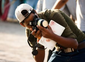 India Indian Taking Pictures Photographer Camera